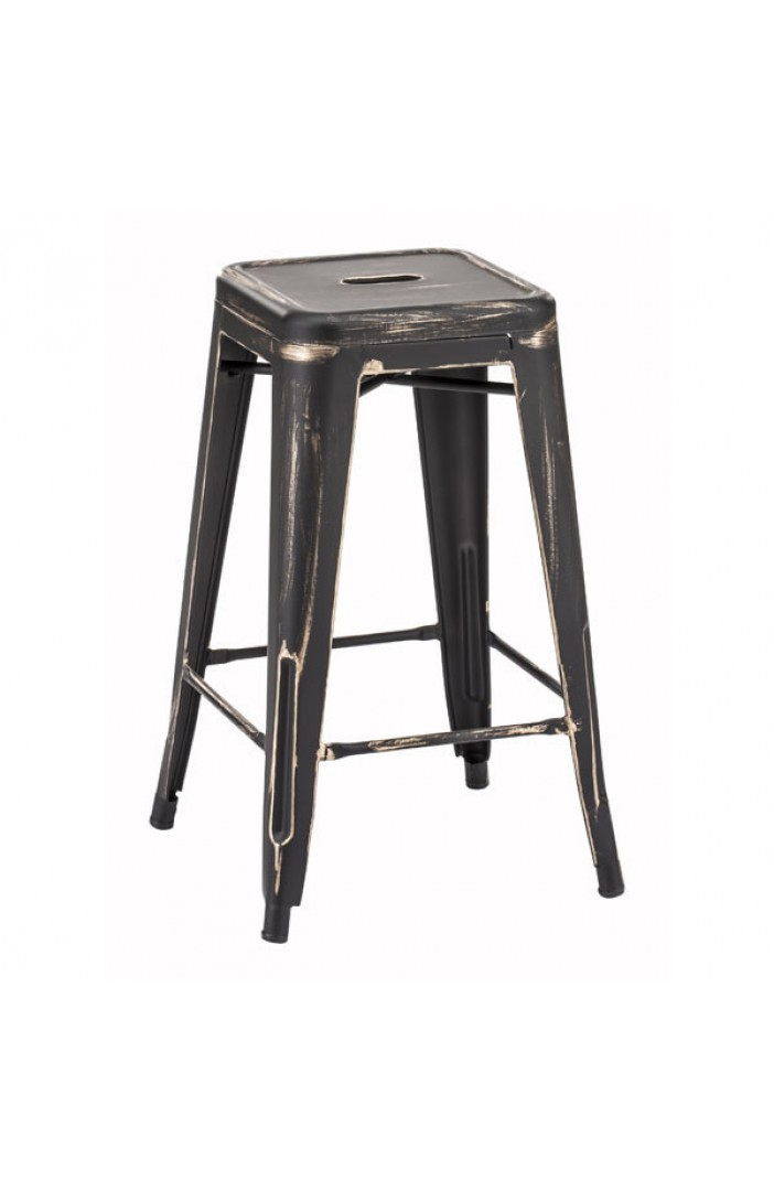 Awe Inspiring Marius Counter Stool Antique Black Gold Gmtry Best Dining Table And Chair Ideas Images Gmtryco