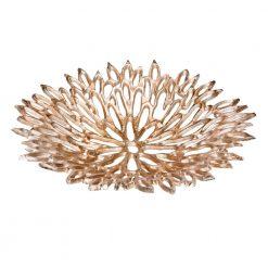 Chrysanthemum Platter Large Silver