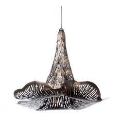 Bellflower Pendant Lamp Bronze Small
