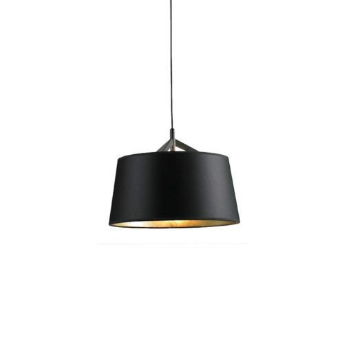 Living Pendant Lamp Large Black