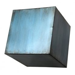 Block Wall Decor Large Blue