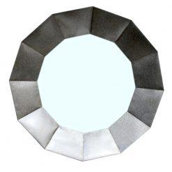 Dodecagon Mirror Silver
