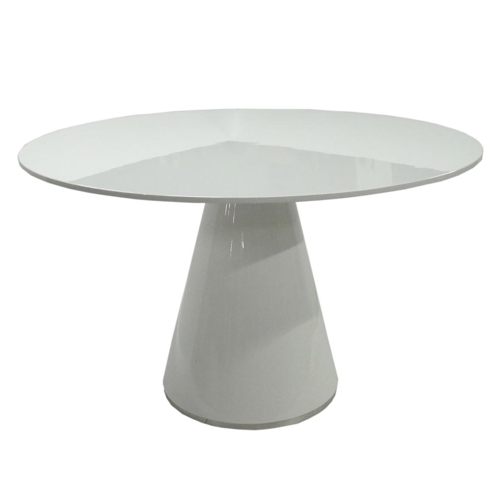 e511c403a0fd07 Otago Dining Table Round White - Boulevard Urban Living