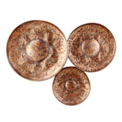 Bronze Disc Wall Decor Large