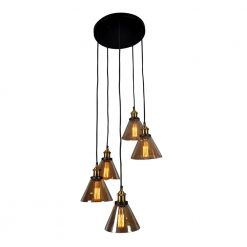 Marta Circular 5 Light Pendat Lamp