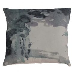 Cloudy Velvet Cushion W/Feather Insert