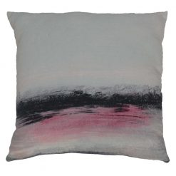 Blurred Lines Cushion W/Feather Insert
