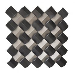 Checkered Wall Decor Square