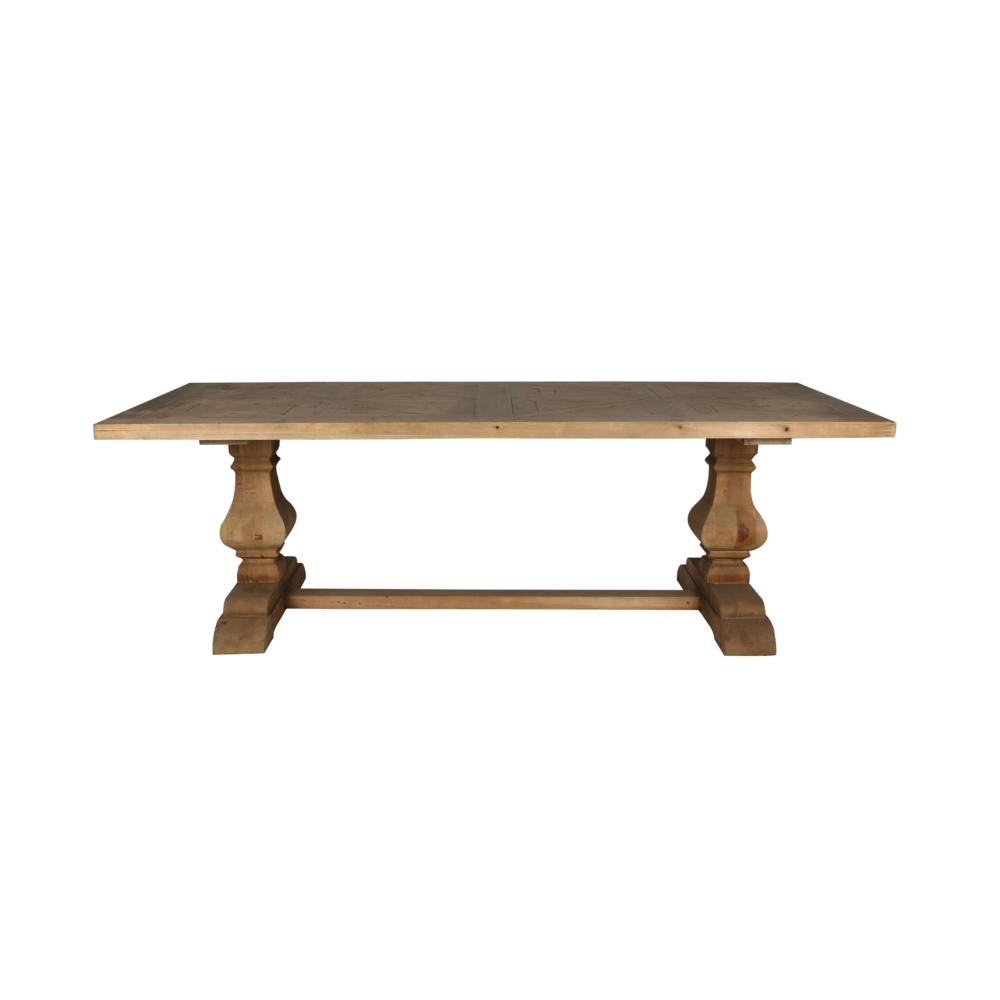 Trenton Dining Table Natural Boulevard Urban Living - Pottery barn sloan coffee table