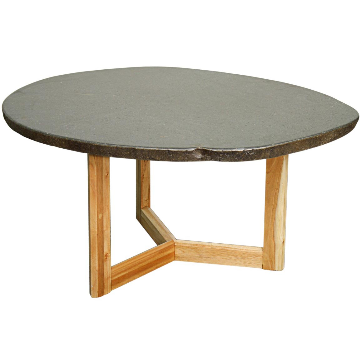 Natural Stone Coffee Table: Gale Stone Coffee Table, Natural Stone