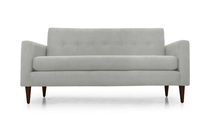 Beverly Leather Apartment Sofa - Boulevard Urban Living