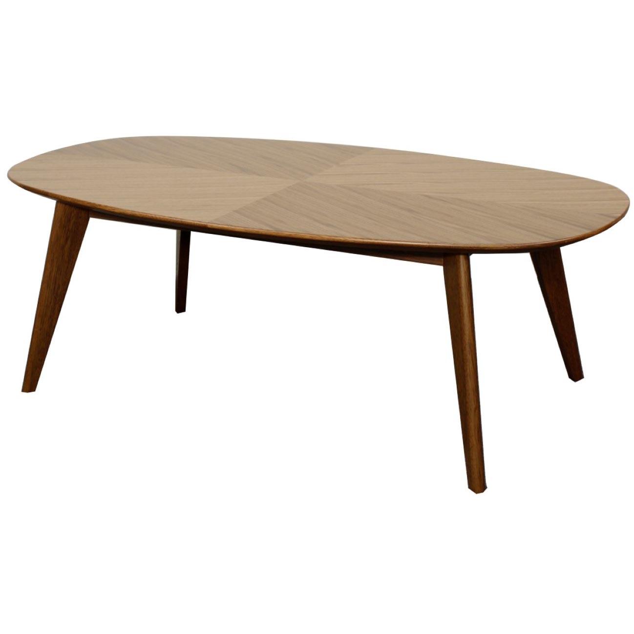 Milano Coffee Table, Walnut
