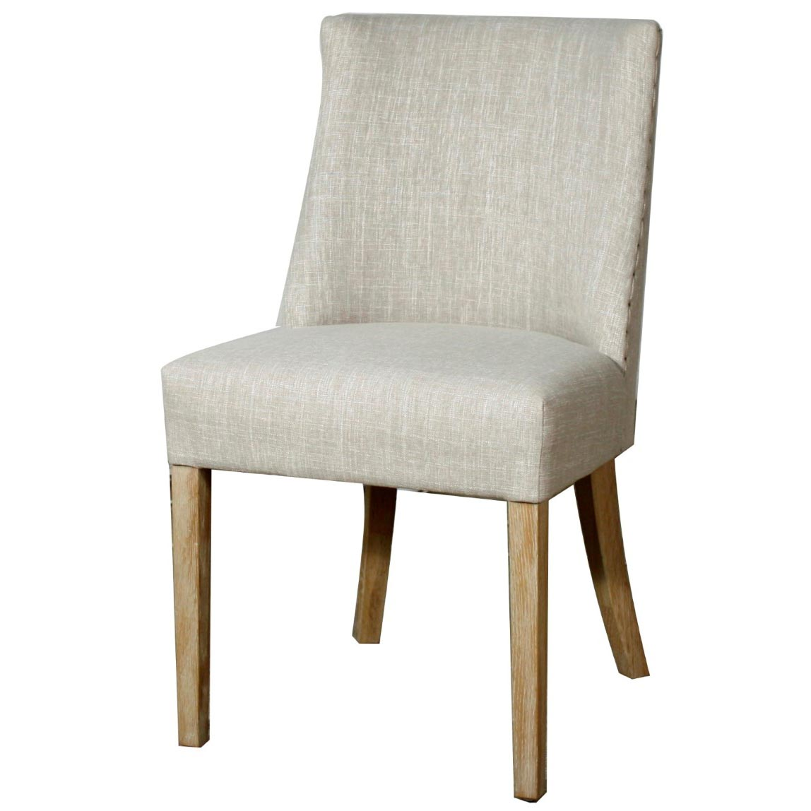 New Paris Fabric Chair, Rice - Boulevard Urban Living