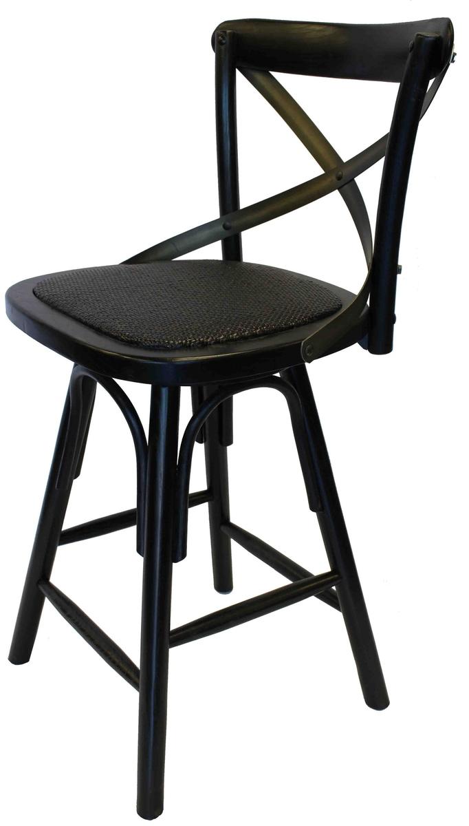 Swell Crossback Counter Stool Black Spiritservingveterans Wood Chair Design Ideas Spiritservingveteransorg