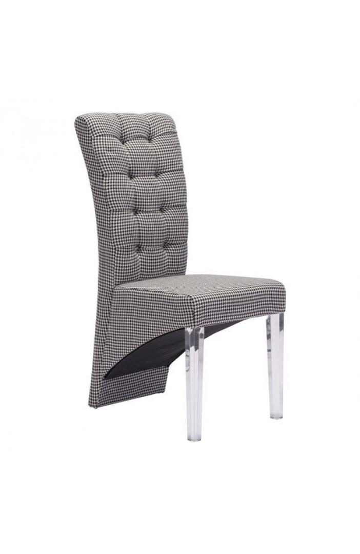 Waldorf Dining Chair Houndstooth Boulevard Urban Living