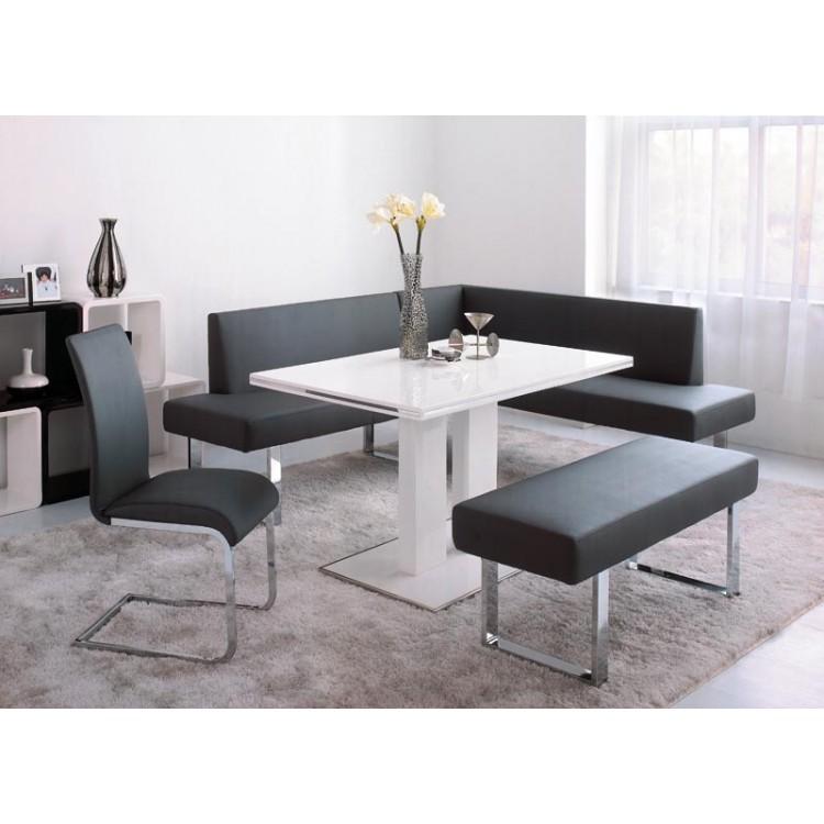 Beau Amanda Black Corner Dining Set Lifestyle 750×750