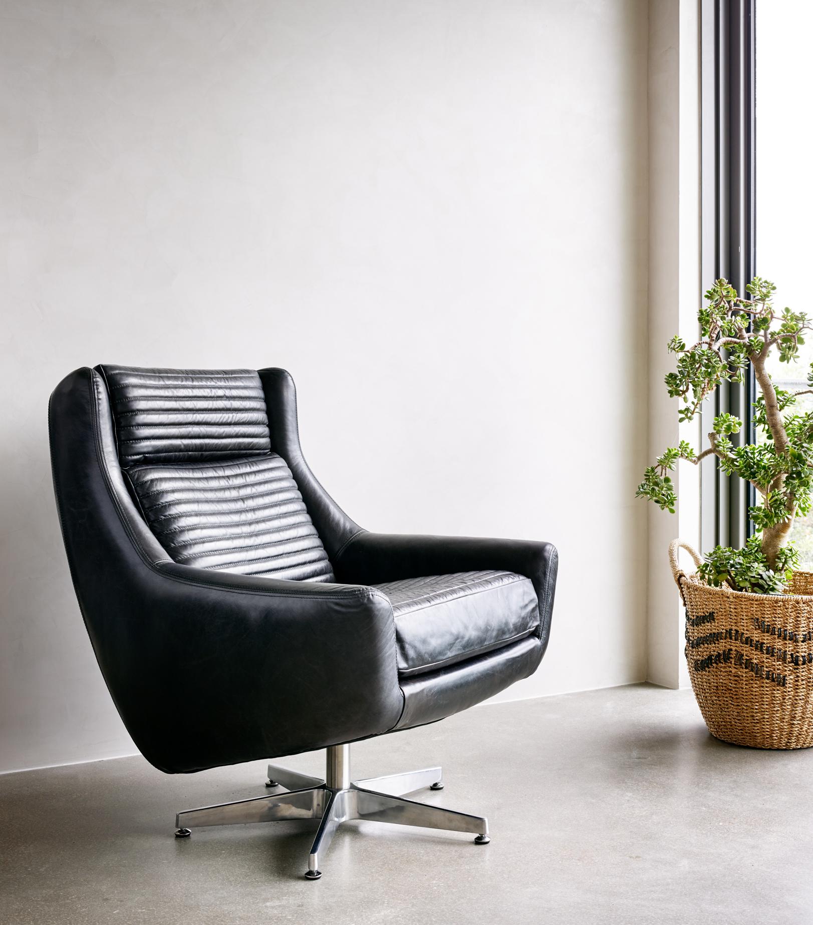 Pleasing Charles Swivel Chair Rider Black Dailytribune Chair Design For Home Dailytribuneorg
