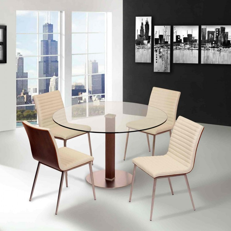 Cafe Dining Set Collection White Pu_Lifestyle_little 750×750