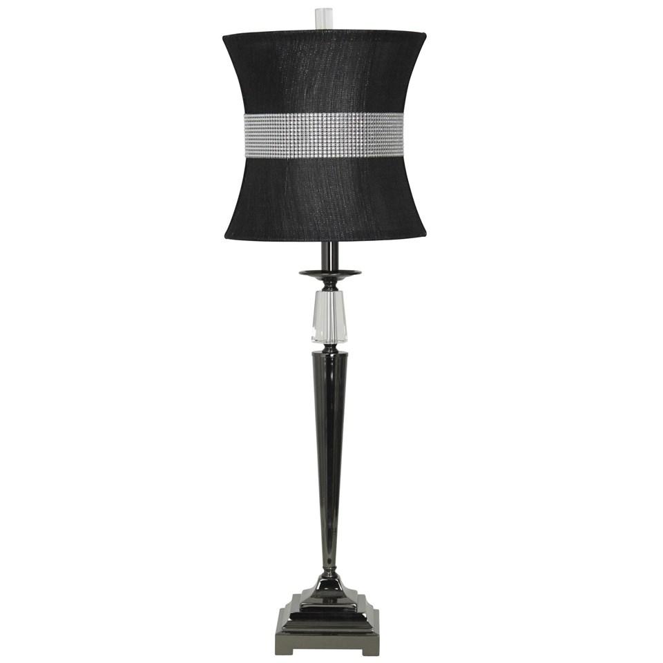 Crystal_Steel Table Lamp