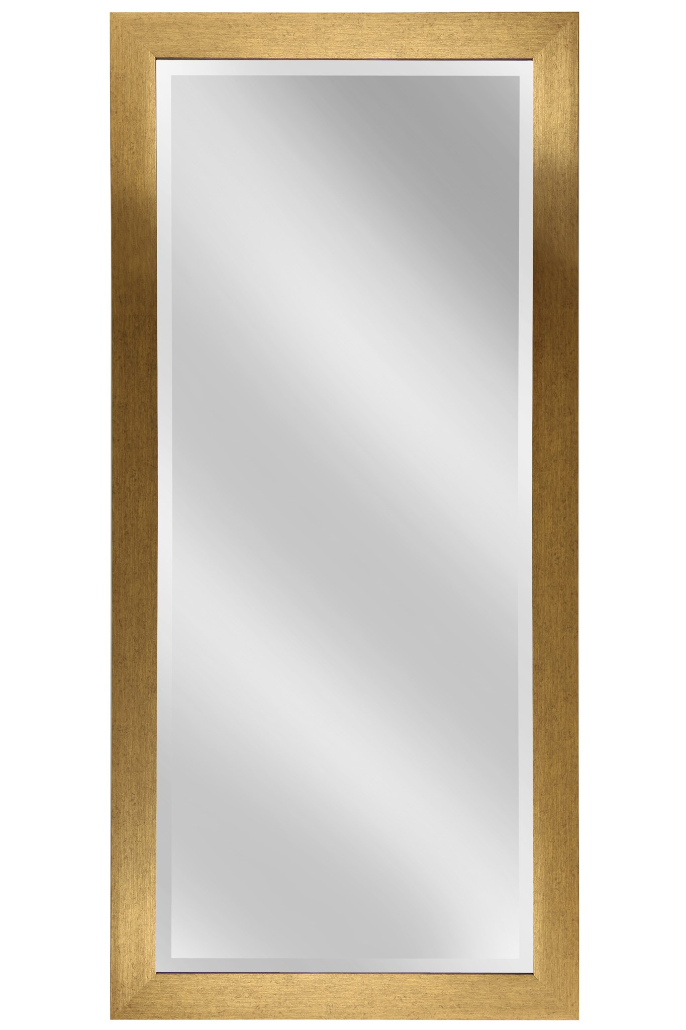 Honey Oak Framed Wall Mirror - Boulevard Urban Living