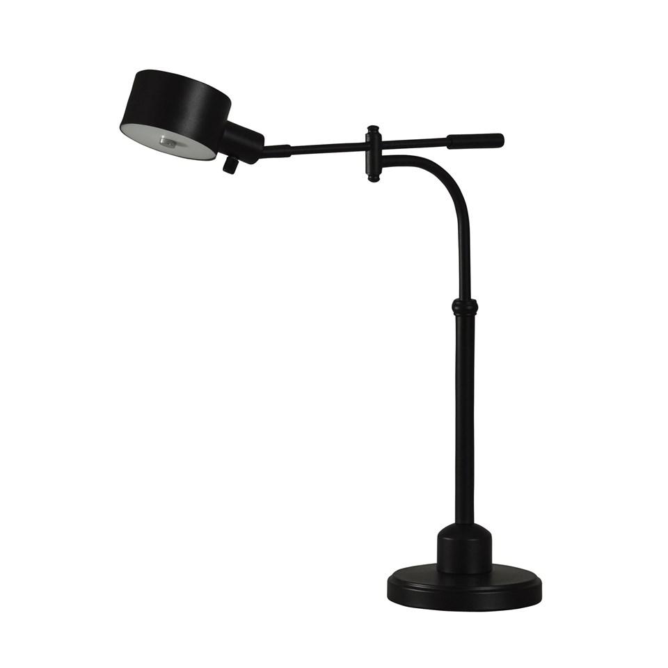 pharmacy design black steel led desk lamp boulevard urban living