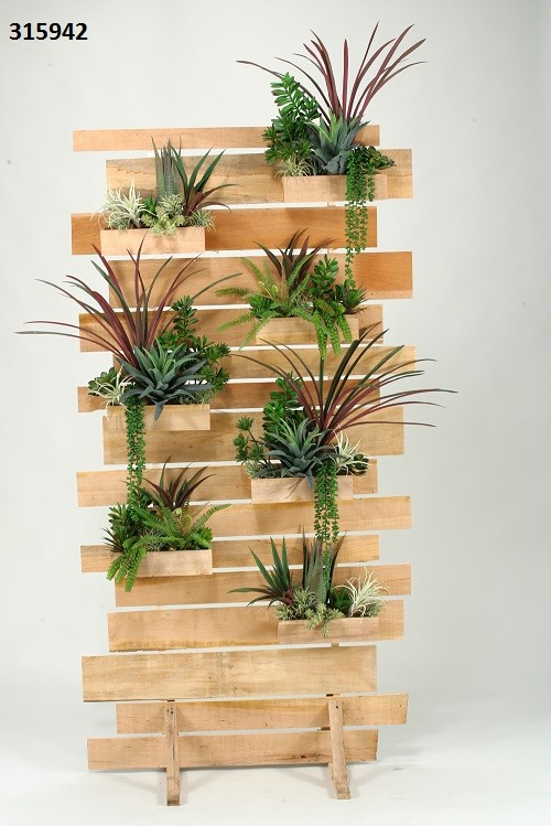 Succulent Living Wall Boulevard Urban Living