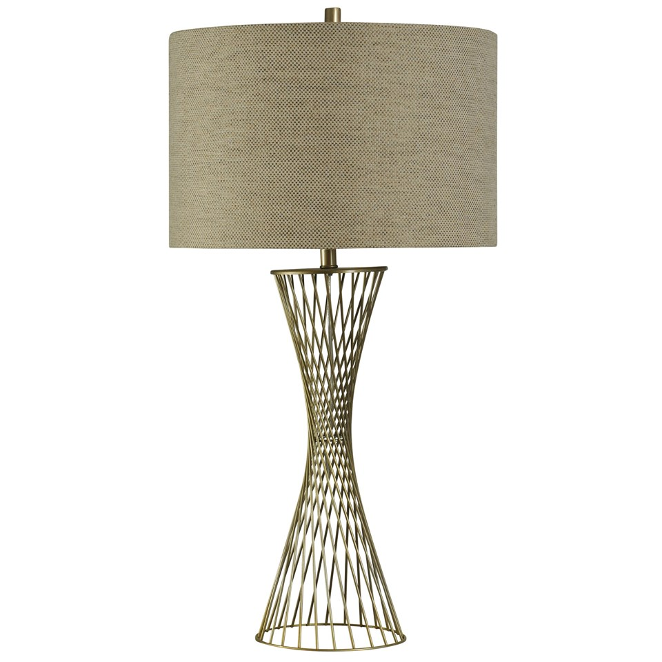 Twisted Metal Table Lamp Boulevard Urban Living