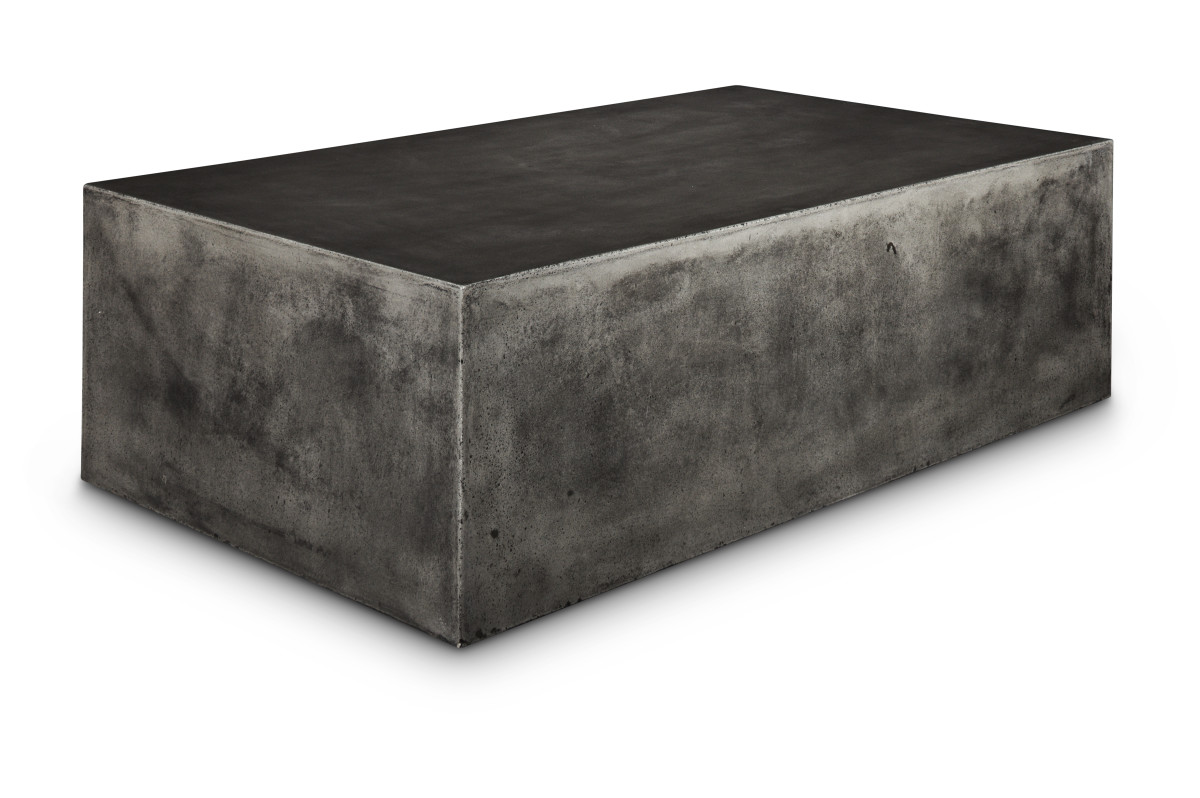 Rectangular Block Coffee Table Boulevard Urban Living - Rectangular concrete coffee table